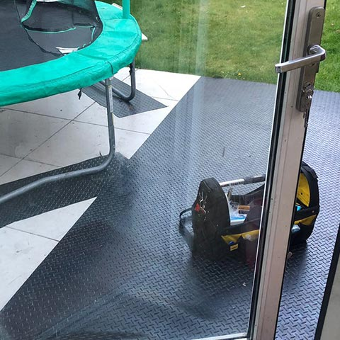 Balcony Door Repair